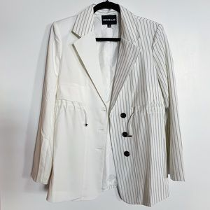 Dolls Kill ICY SECOND INTERVIEW PINSTRIPE BLAZER